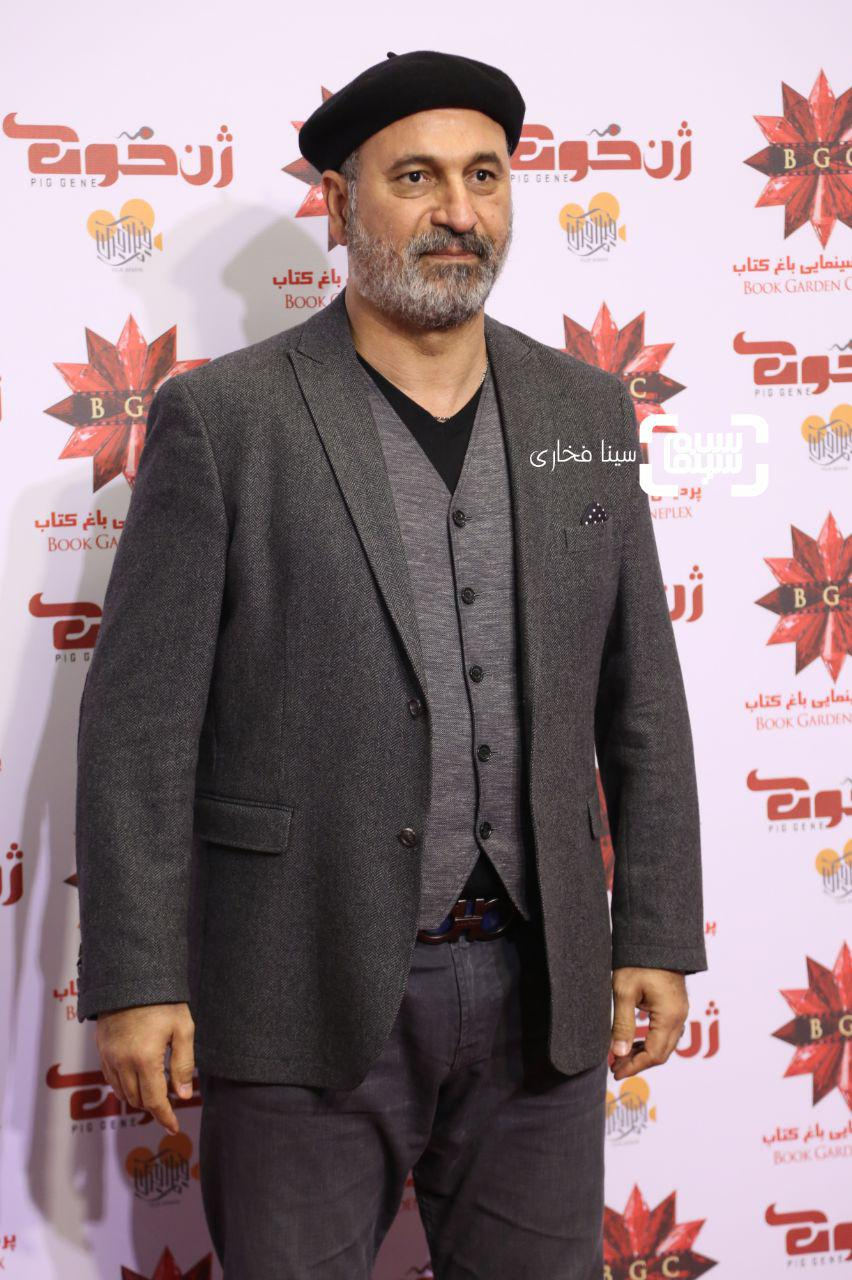 حمید فرخ نژاددر اکران خصوصی فیلم «ژن خوک»