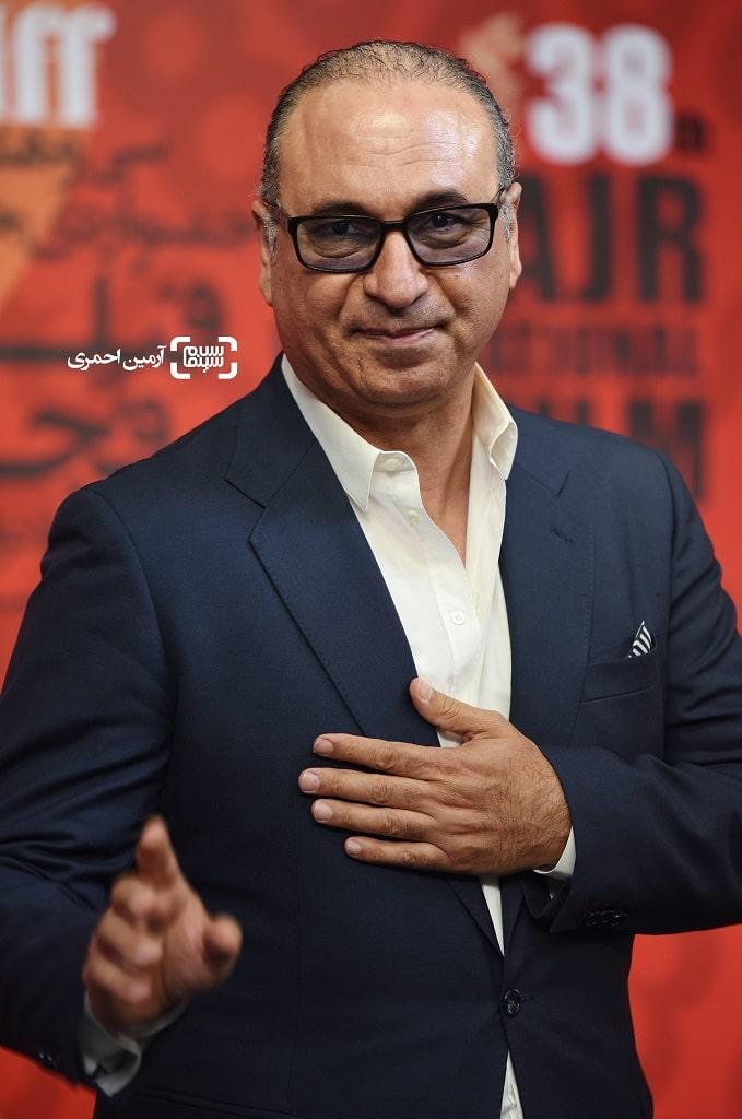 حمید فرخ نژاد - اکران سیارک - سی و هشتمین جشنواره جهانی فیلم فجر
