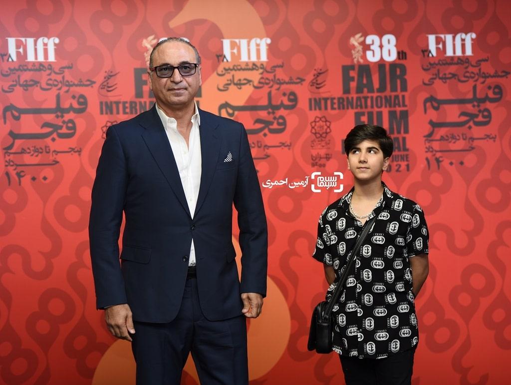 اکران سیلرک - چارسو - سی وهشتمین جشنواره جهانی فیلم فجر - حمید فرخ نژاد