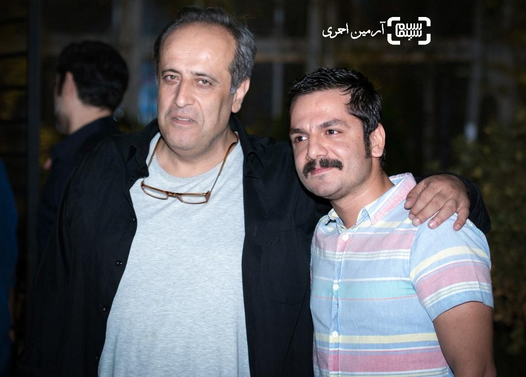 عباس غزالی و حمید نعمت الله