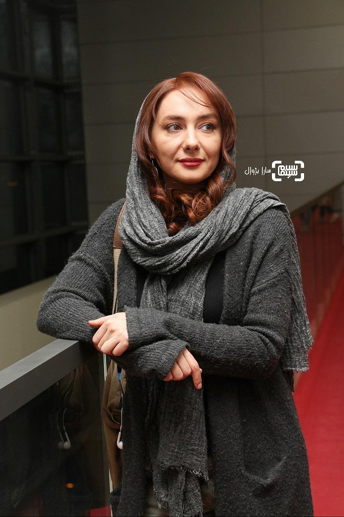 عکس هانیه توسلی در روز هفتم سی و هفتمین جشنواره جهانی فیلم فجر