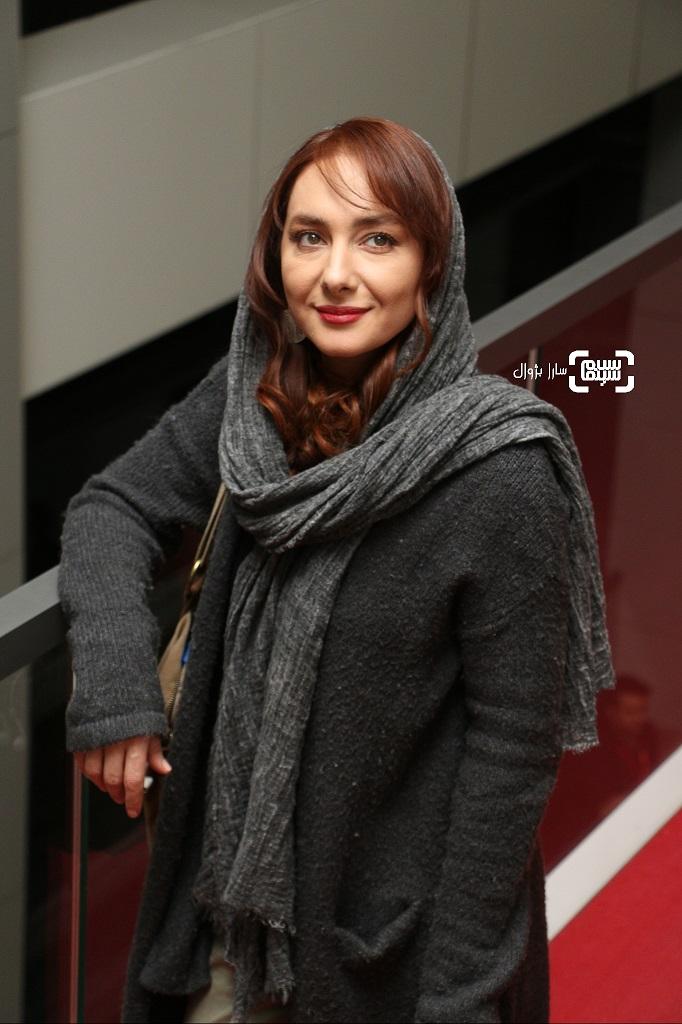 هانیه توسلی در روز هفتم سی و هفتمین جشنواره جهانی فیلم فجر