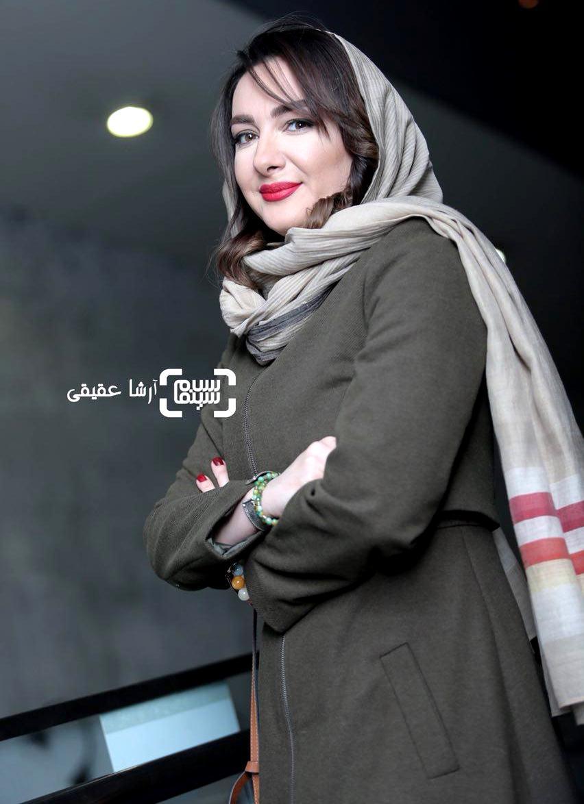 هانیه توسلی در اکران فیلم «سوءتفاهم» در کاخ رسانه سی و ششمین جشنواره فیلم فجر