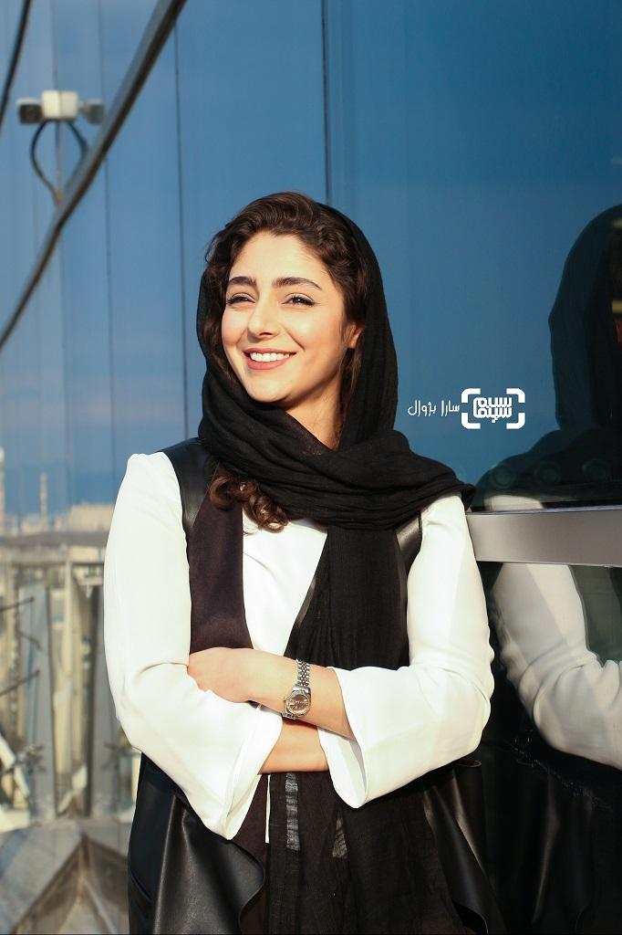 هستی مهدوی در روز هفتم سی و هفتمین جشنواره جهانی فیلم فجر