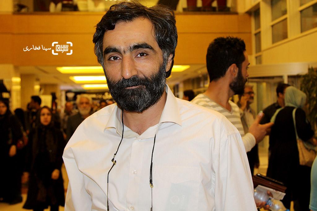 هادی مقدم دوست در اختتامیه جشنواره فیلم مقاومت