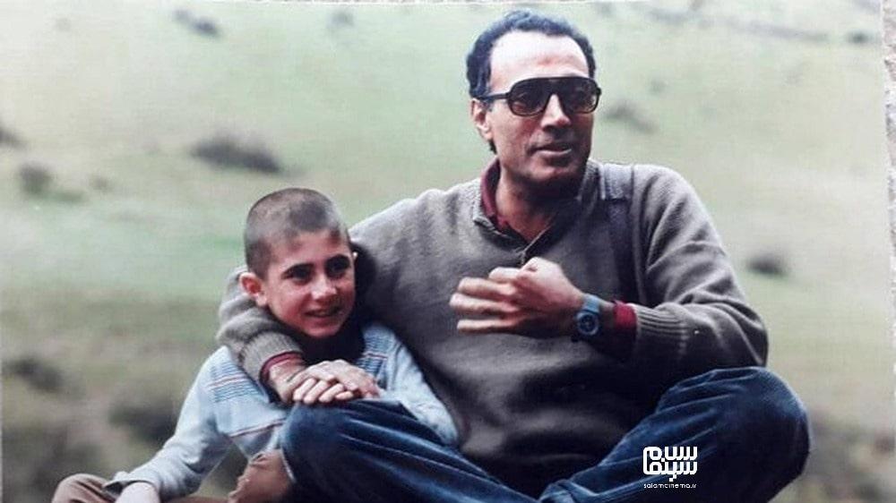 کیارستمی در پشت صحنه خانه دوست کجاست با بازیگر کودک- تاریخچه غیررسمی سینمای ایران