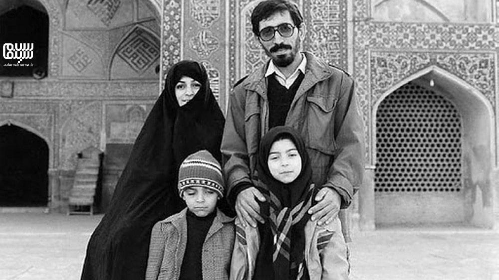 محسن مخملباف در زیارت در جوانی با ریش- تاریخچه غیررسمی سینمای ایران
