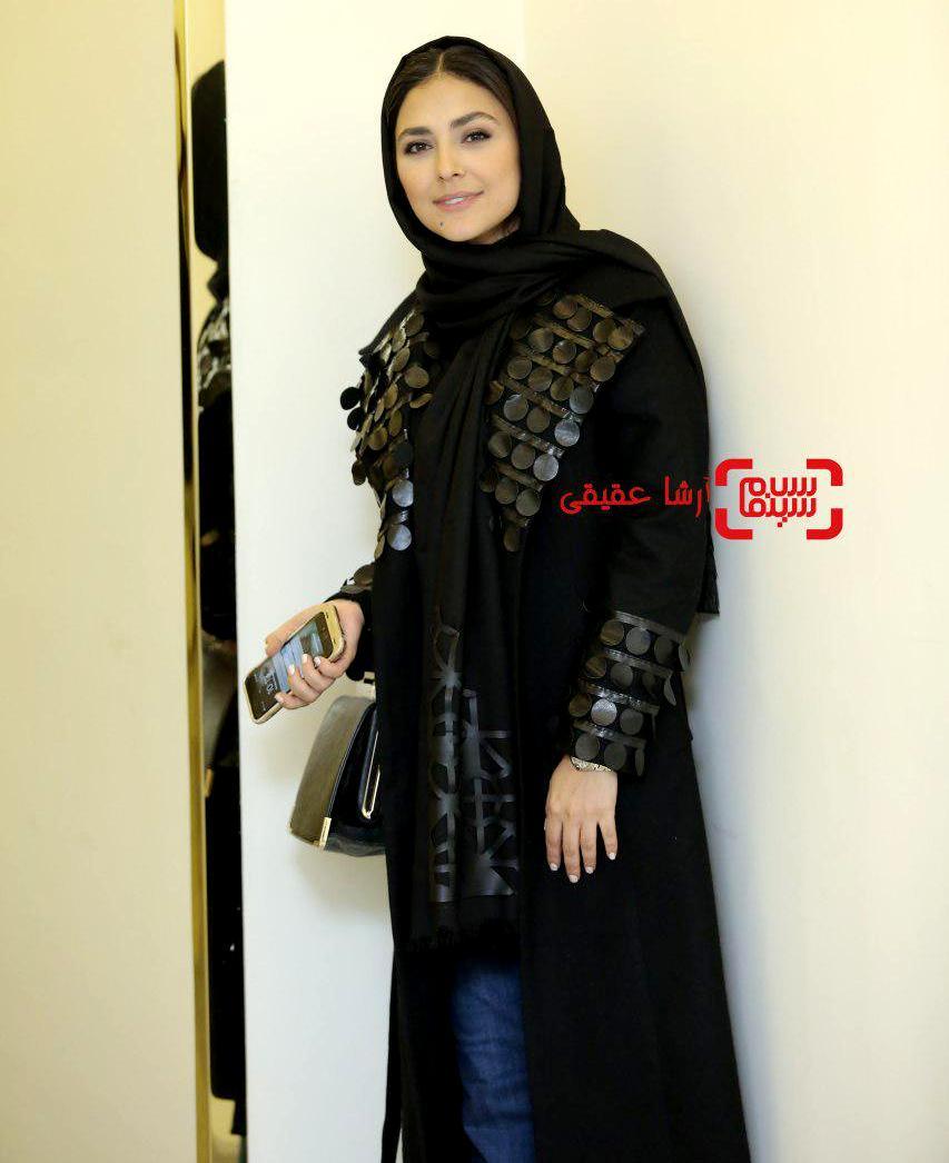 هدی زین العابدین در اختتامیه سی و ششمین جشنواره فیلم فجر