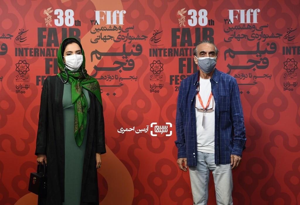 همایون ارشادی - میترا حجار - سی و هشتمین جشنواره جهانی فیلم فجر - چارسو