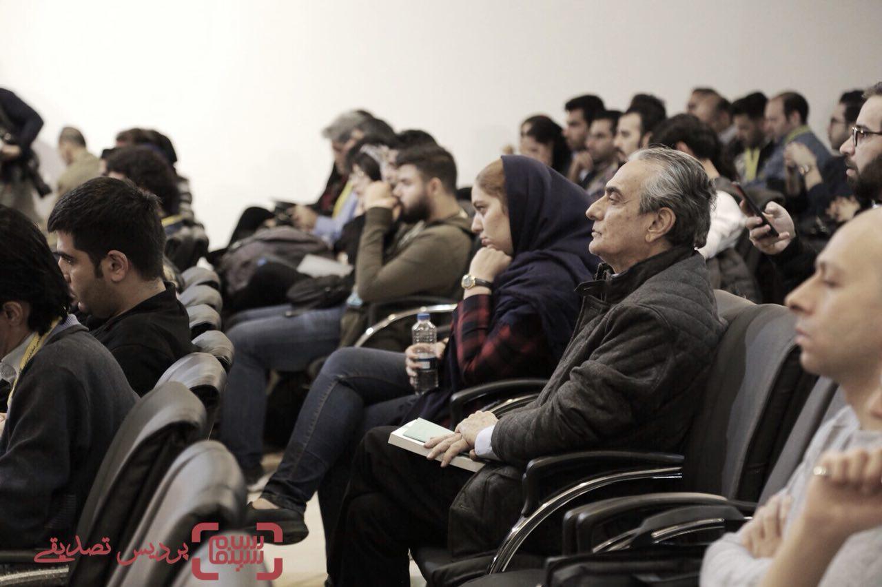 همایون ارشادی در سی و پنجمین جشنواره فیلم کوتاه تهران