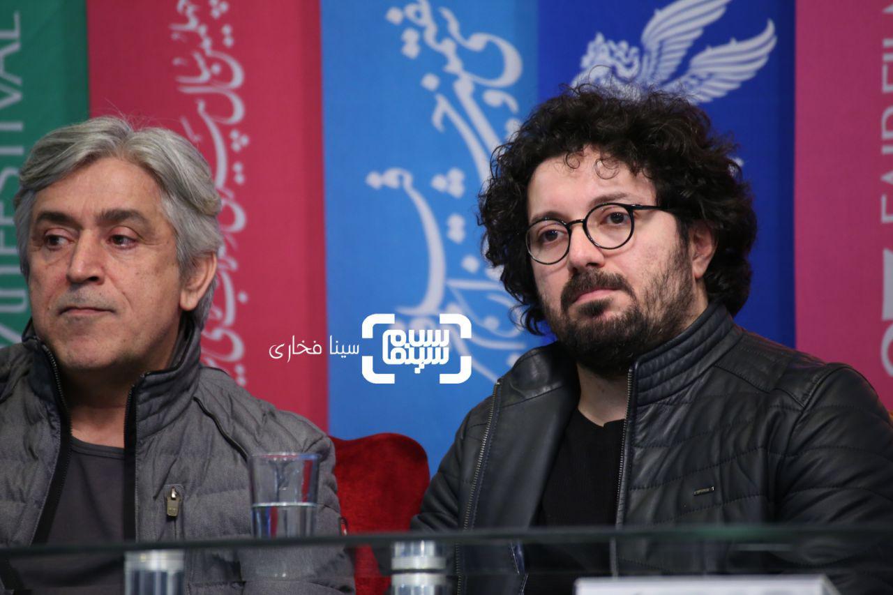 هومن بهمنش و ایرج شهرزادی گزارش تصویری اکران و نشست «متری شیش و نیم»/جشنواره فجر 37
