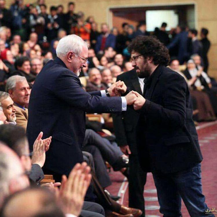 حمایت هومن بهمنش از حسن روحانی در انتخابات ریاست جمهوری 96