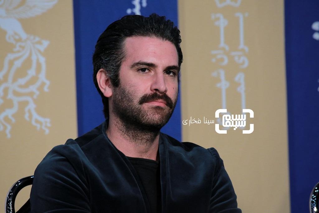 هوتن شکیبا - نشست خبری فیلم «عامه پسند» در جشنواره فیلم فجر 38