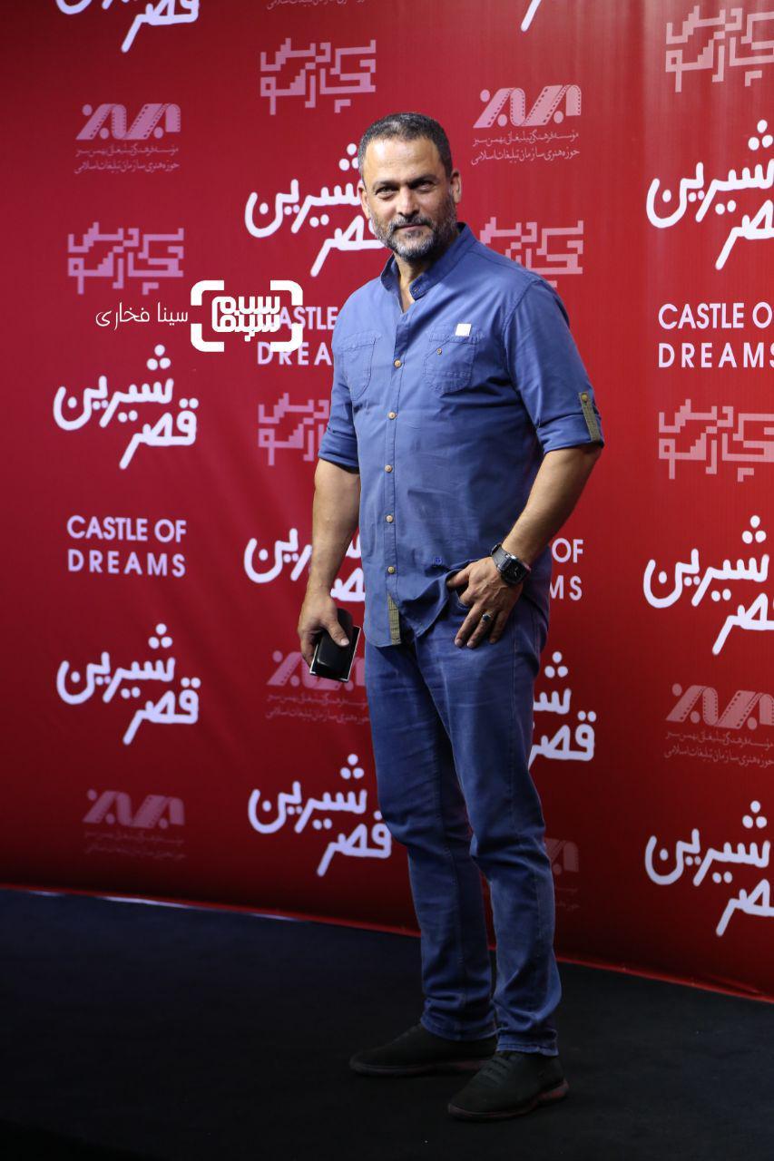عکس حسین یاری در اکران خصوصی فیلم «قصر شیرین»