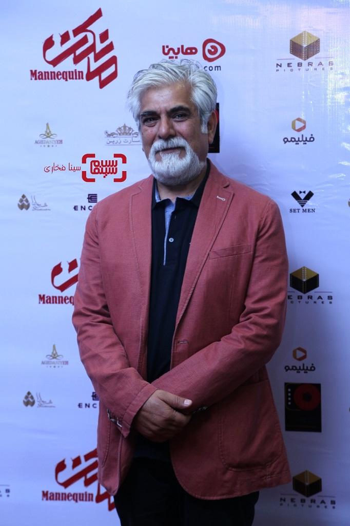 عکس حسین پاکدل در اکران خصوصی سریال نمایش خانگی «مانکن»/ گزاش تصویری