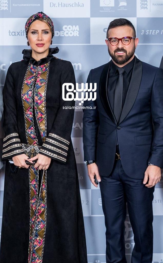عکسهای هومن سیدی و سمیرا ذکایی در جشنواره بین المللی فیلم شبهای تالین 2018