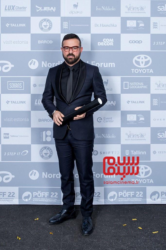 هومن سیدی در جشنواره بین المللی فیلم شبهای تالین 2018