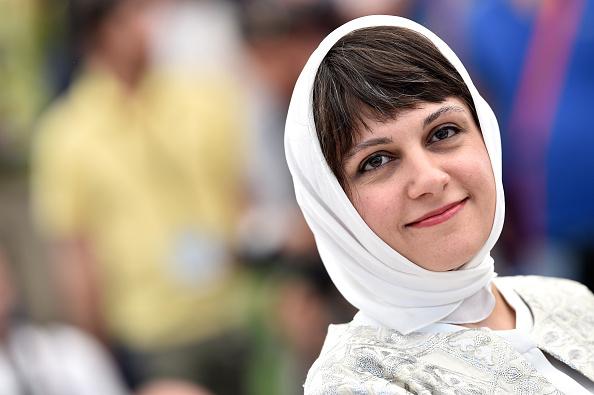 آیدا پناهنده در فتوکال فیلم «ناهید» در شصت و هشتمین جشنواره فیلم کن