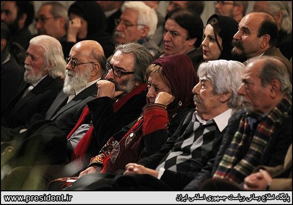 مسعود کیمیایی دیدار با روحانی