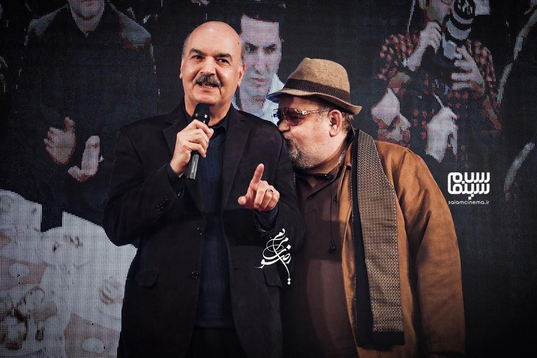 اکبر عبدی و ایرج طهماسب - سیزدهمین شب انجمن منتقدان و نویسندگان سینمای ایران