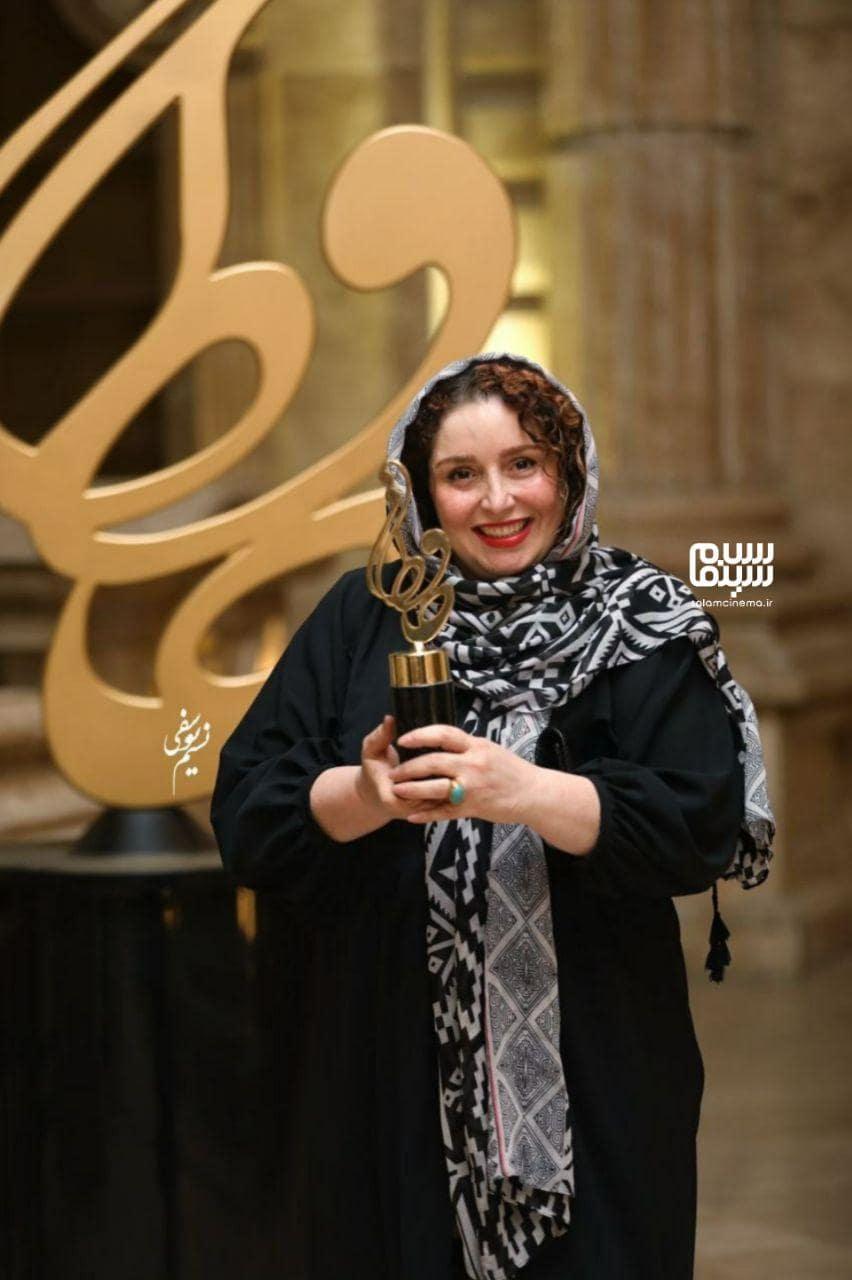 ژاله صامتی در بیستمین جشن حافظ
