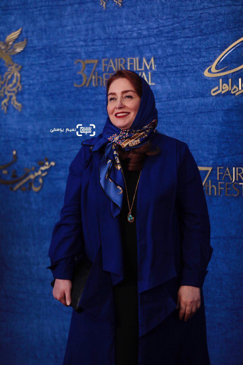 ژاله صامتی گزارش تصویری اکران و نشست فیلم «درخونگاه»/جشنواره فجر 37