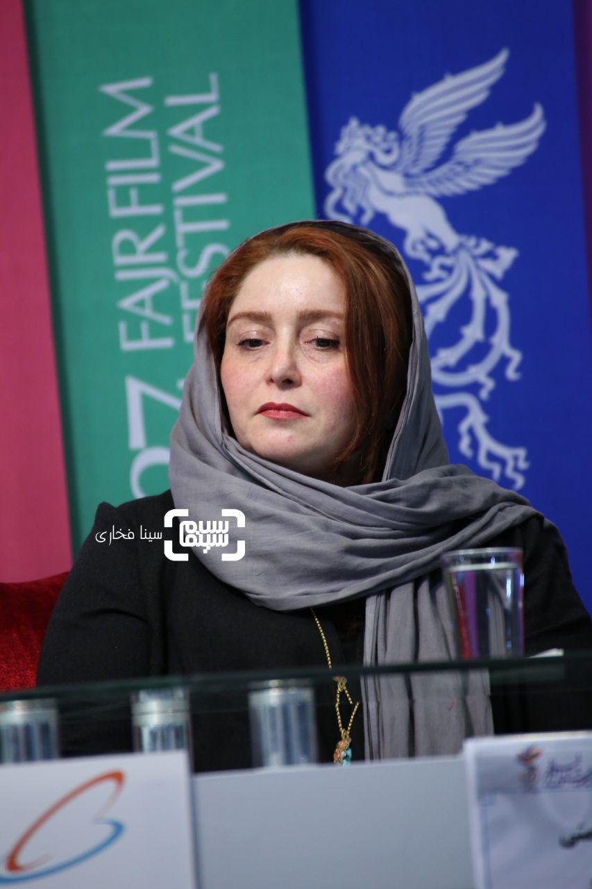 ژاله صامتیگزارش تصویری اکران و نشست «حمال طلا»/جشنواره فجر 37