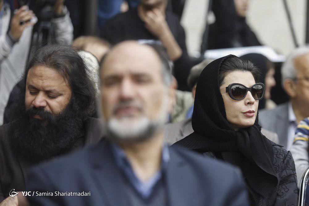 گزارش تصویری مراسم تشییع جمشید مشایخی