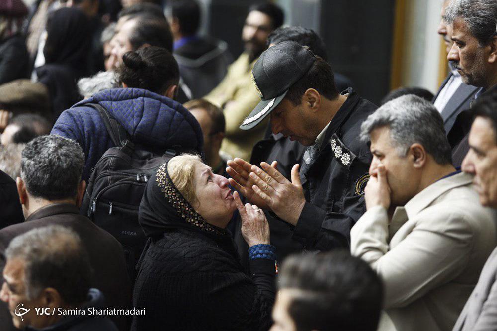 عکسهای مراسم تشییع جمشید مشایخی