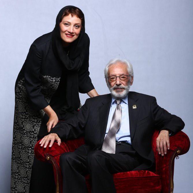 پیام تسلیت شبنم مقدمی برای درگذشت جمشید مشایخی