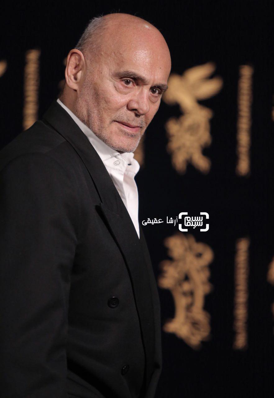 جمشید هاشم پور در اکران فیلم «هایلایت» در سی و ششمین جشنواره فیلم فجر