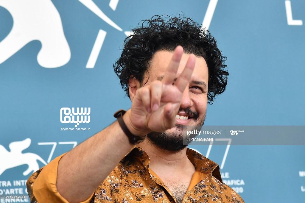 جواد عزتی بازیگر فیلم خورشید در جشنواره فیلم ونیز 2020