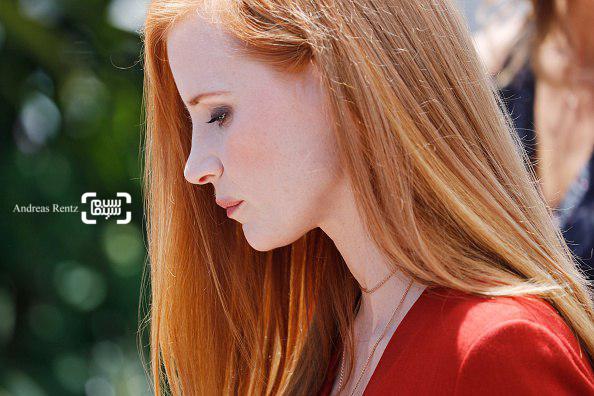 عکس جسیکا چستین در مراسم فتوکال روز اول جشنواره فیلم کن