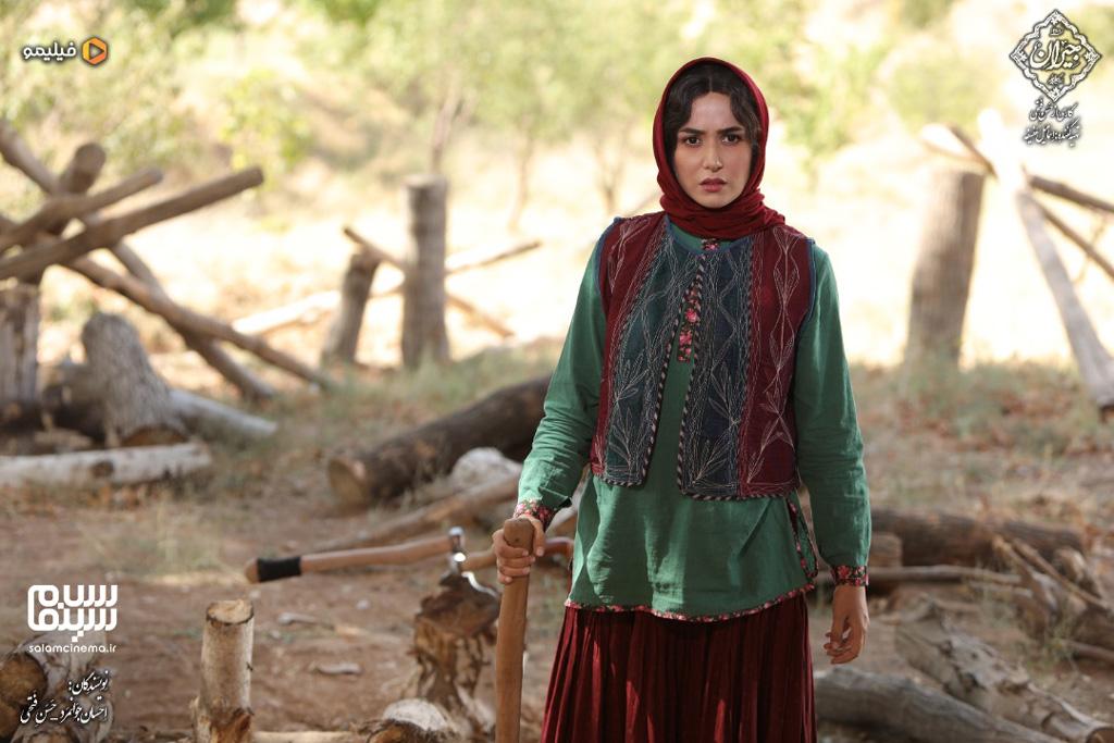 عکس جدید پریناز ایزدیار در جیران