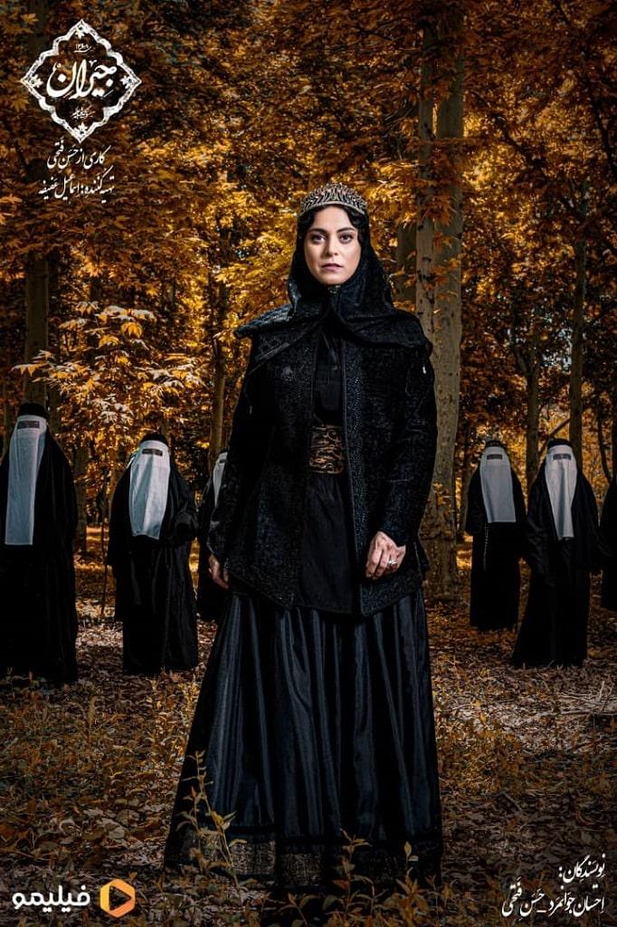غزل شاکری در سریال نمایش خانگی جیران