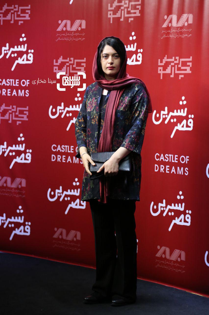عکس ژیلا شاهی در اکران خصوصی فیلم «قصر شیرین»