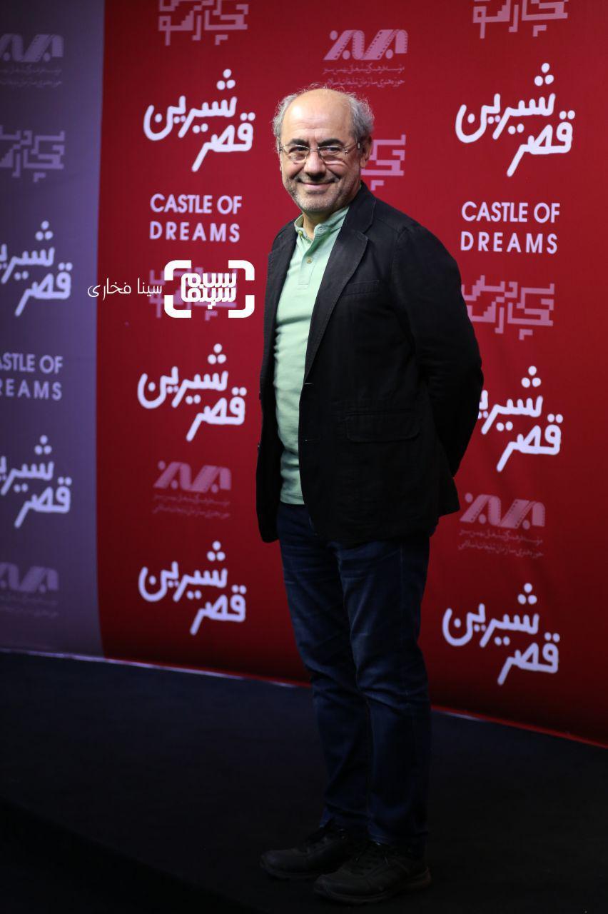 عکس کمال تبریزی در اکران خصوصی فیلم «قصر شیرین»