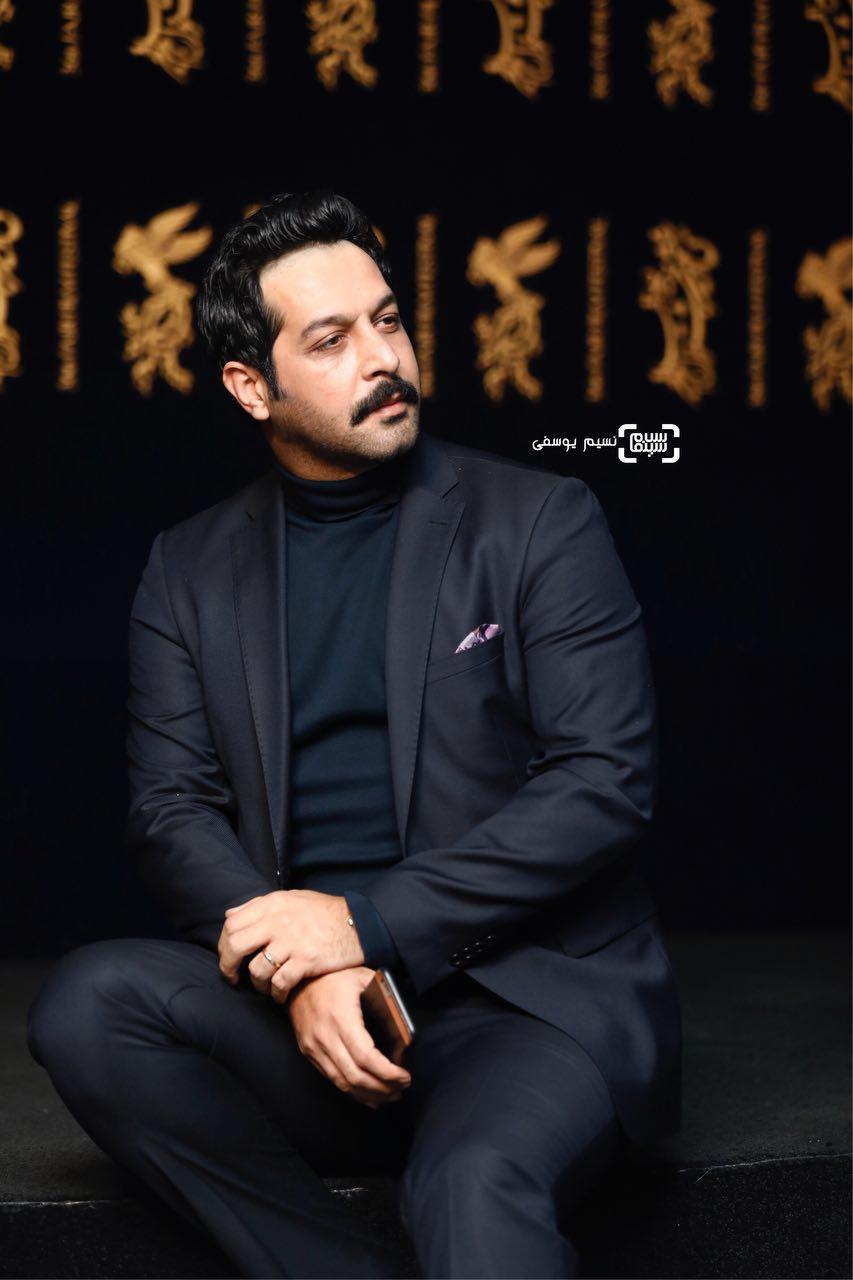 کامران تفتی در اکران فیلم «ماهورا» در سی و ششمین جشنواره فیلم فجر