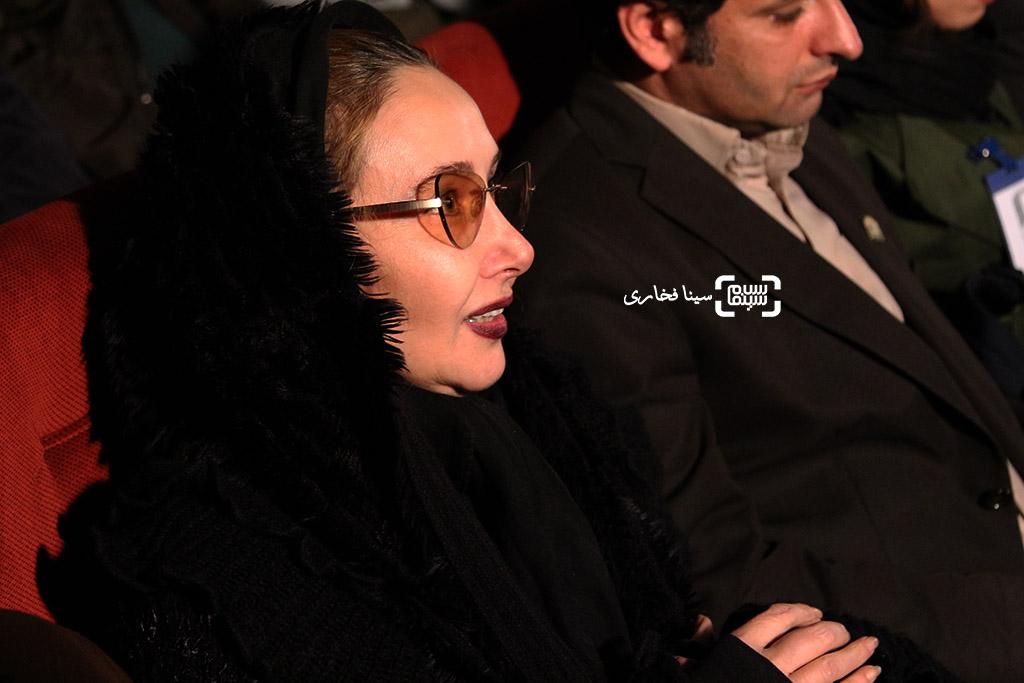 کتایون ریاحی در مراسم تقدیر از اصغر فرهادی