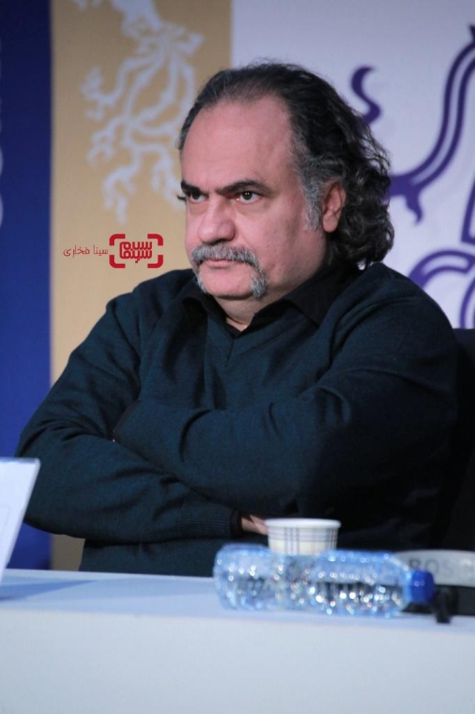 کیوان علیمحمدی- گزارش تصویری - نشست خبری فیلم «سینما شهر قصه» - جشنواره فیلم فجر 38