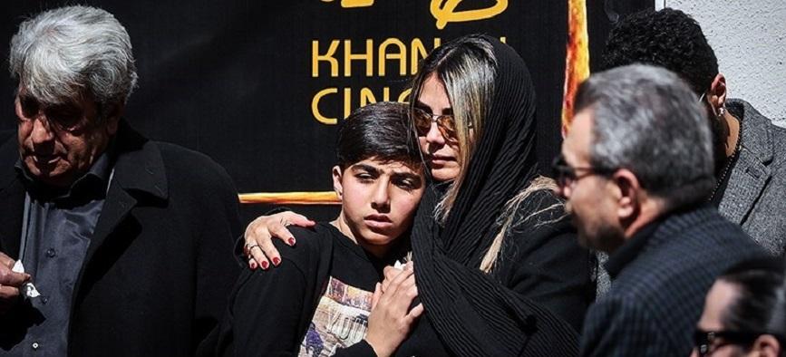 مراسم تشییع خشایار الوند/ گزارش تصویری