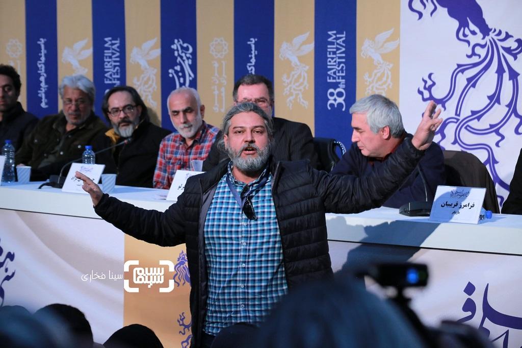 گزارش تصویری - نشست خبری فیلم «خروج» - جشنواره فیلم فجر 38