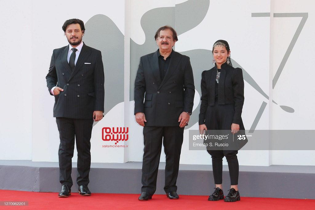 عکسهای فرش قرمز فیلم خورشید در جشنواره فیلم ونیز 2020