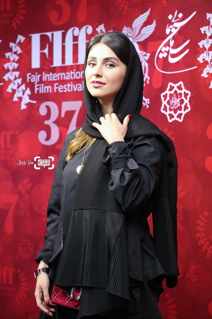 عکس لاله مرزبان در روز پنجم سی و هفتمین جشنواره جهانی فجر