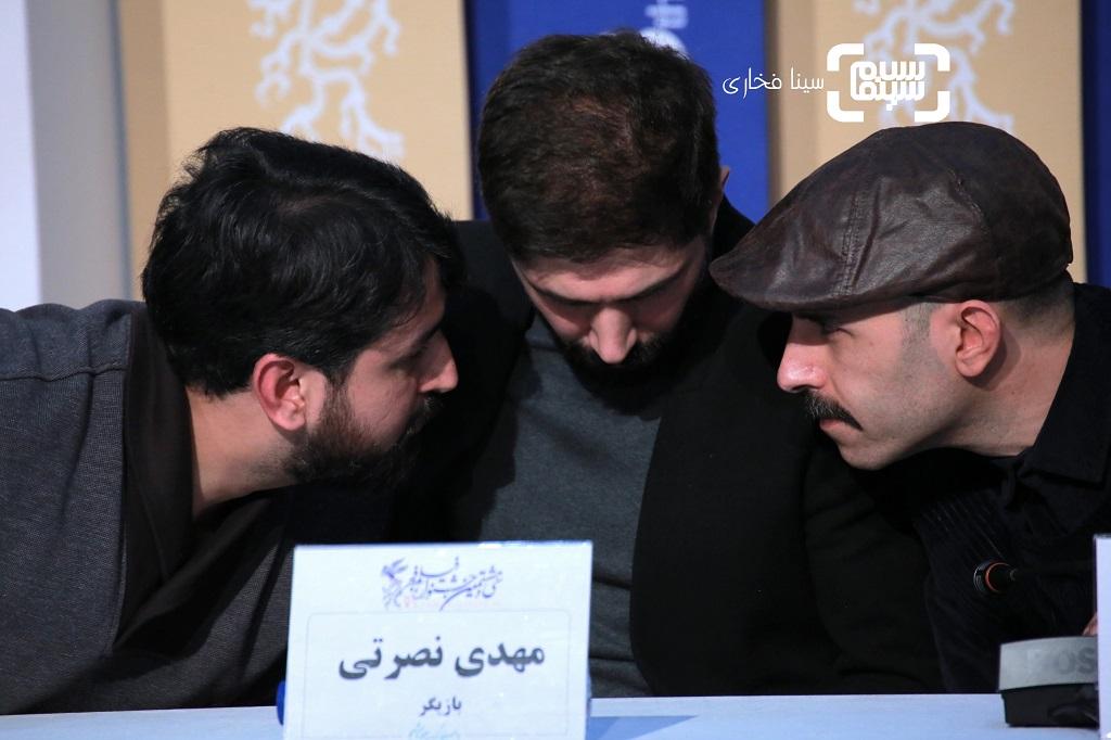 گزارش تصویری - نشست خبری فیلم «لباس شخصی» - جشنواره فیلم فجر 38