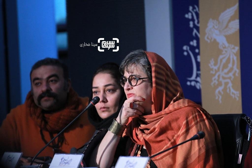 لیلا نقدی پری - گزارش تصویری - نشست خبری فیلم «دشمنان» - جشنواره فیلم فجر 38
