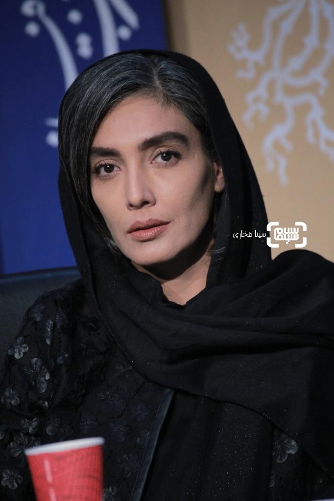 لیلا زارع - گزارش تصویری - نشست خبری فیلم «پسرکشی» - جشنواره فیلم فجر 38