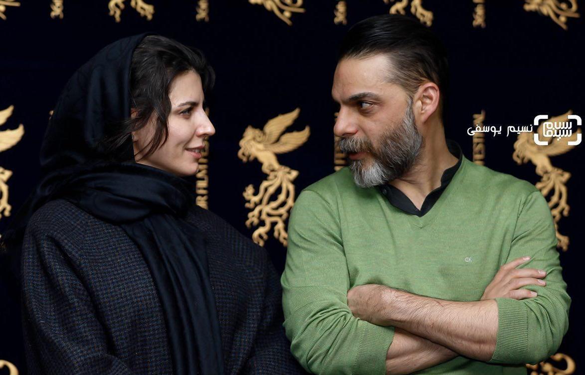 15 عکس برتر جشنواره فیلم فجر از قاب نسیم یوسفی/ لیلا حاتمی و پیمان معادی