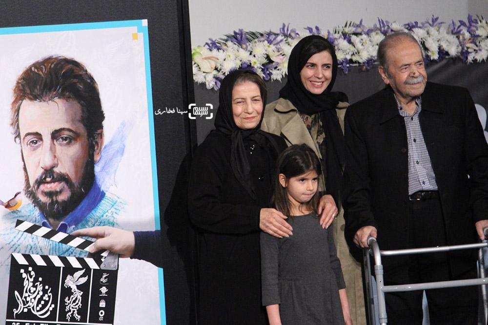 گزارش تصویری رونمایی از پوستر جشنواره فیلم فجر 35 با حضور خانواده علی حاتمی