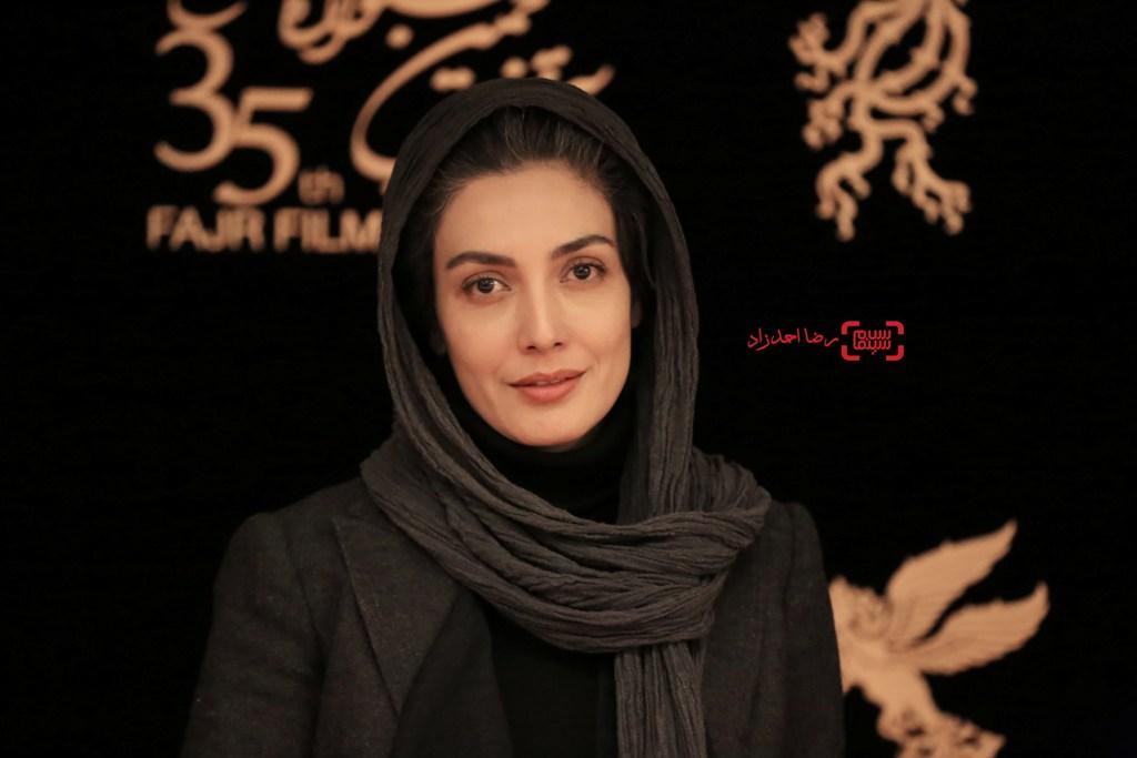 لیلا زارع در اکران «خانه دیگری» در جشنواره فیلم فجر35